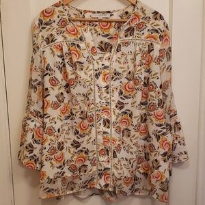 Fever floral blouse 2X